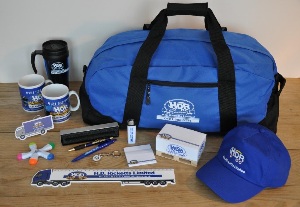 HD Ricketts Corporate packs