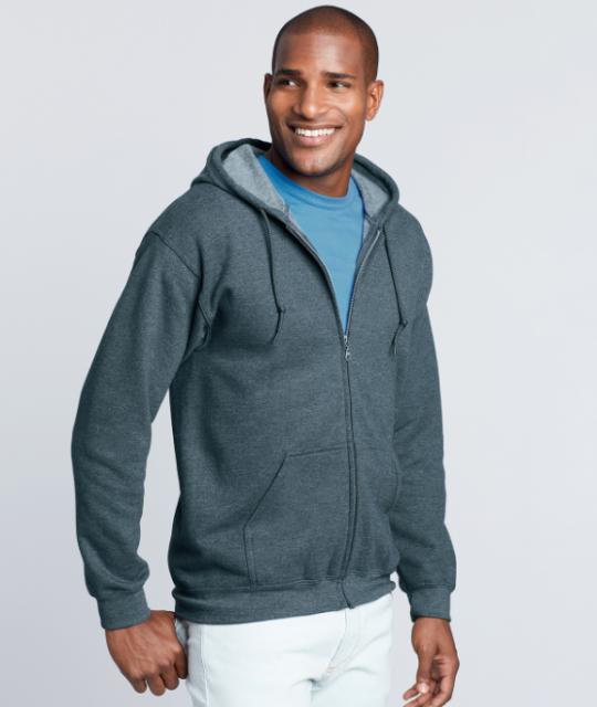 Gildan-zipped-hoodie