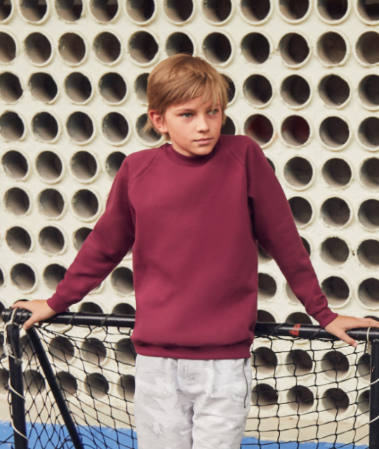 Kids Fruit of the Loom Sweatshirt